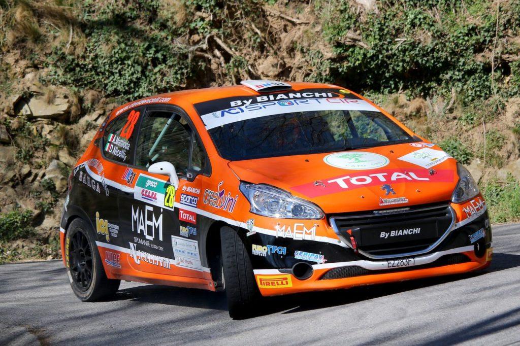 Peugeot Competition | 208 Rally Cup TOP, Nicelli prova a chiudere i conti al Rally Friuli Venezia Giulia