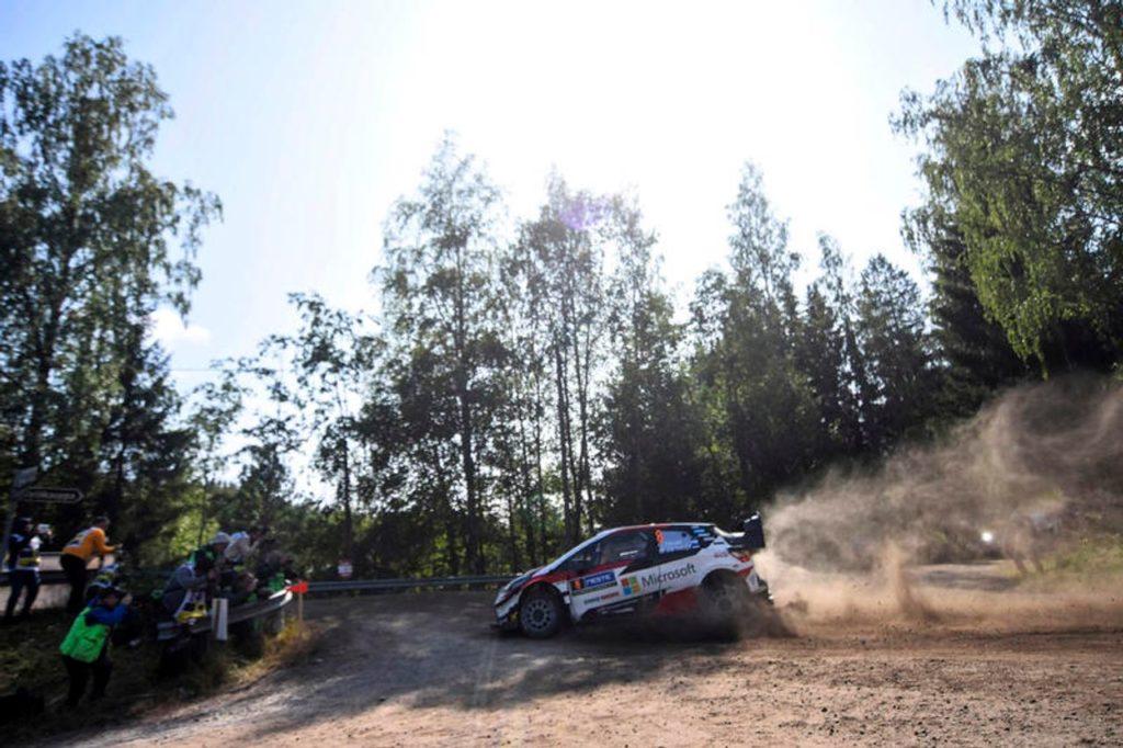 WRC   Ott Tanak conquista il Rally Finlandia 2019 e prova la fuga iridata