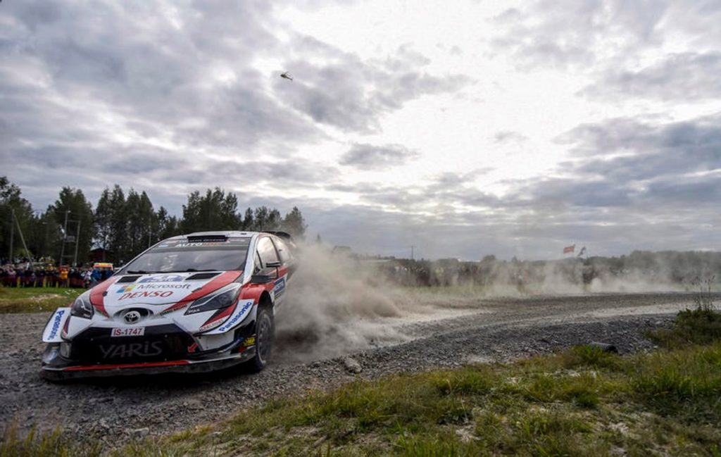 Valtteri Bottas Toyota Yaris WRC