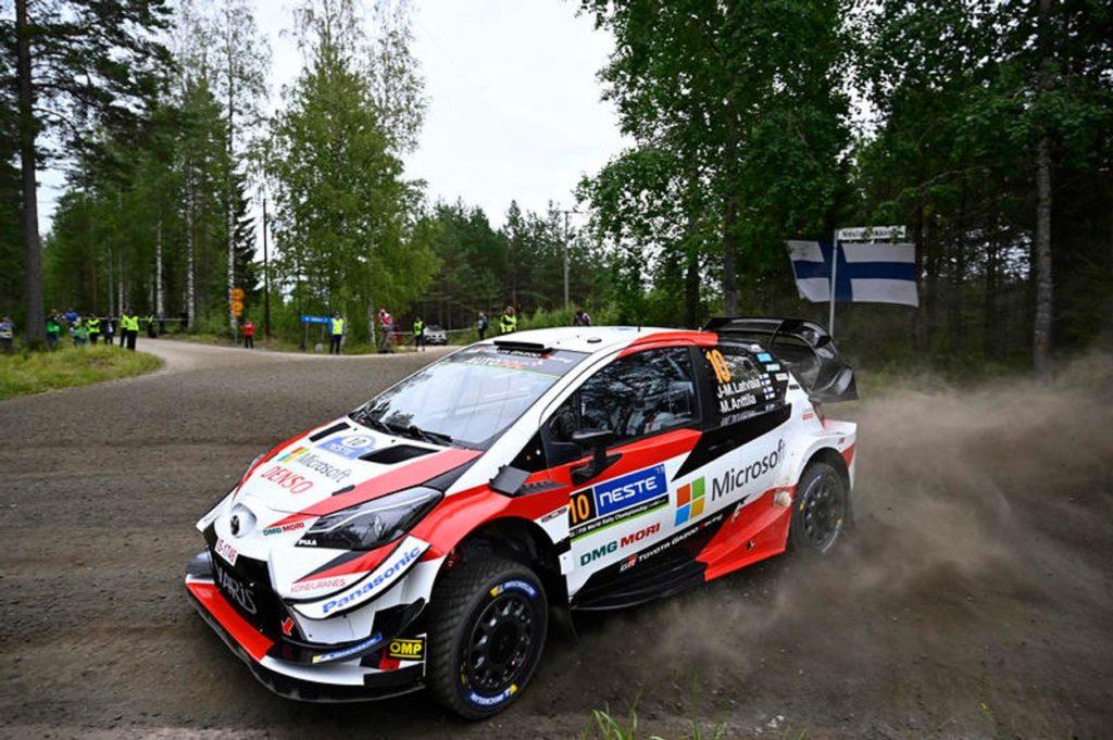 WRC | Rally Finlandia 2019, prima tappa all'insegna dei Toyota (con Latvala in testa)
