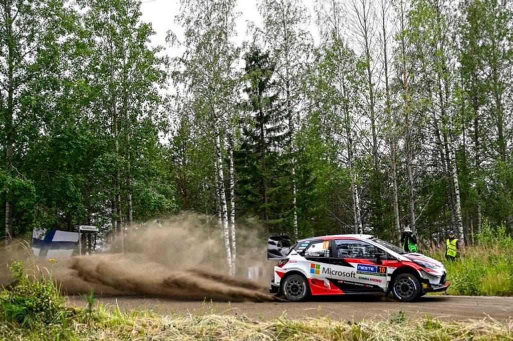 WRC | Rally Finlandia 2019, PS2-8: Toyota scatenati, inseguono Lappi e Breen