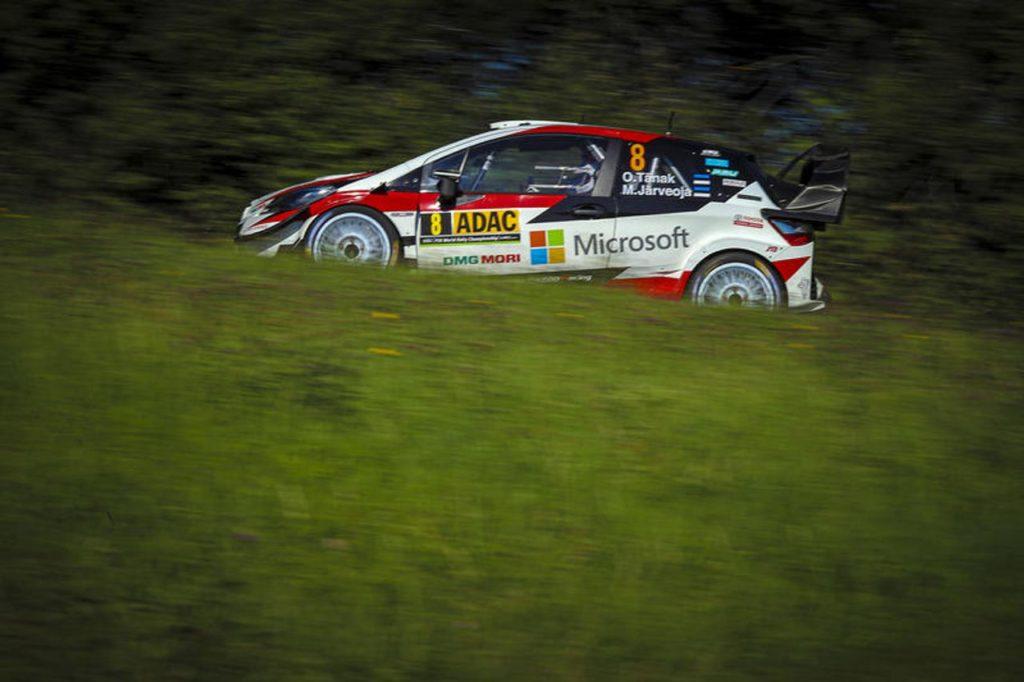 WRC | Rally Germania 2019, PS4: Tanak leader della mattinata, insidiato da Neuville