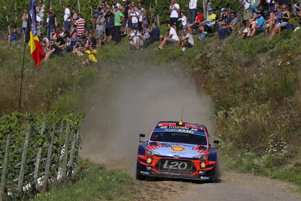 WRC | Rally Germania 2019: finisce il duello Tanak contro Neuville, che fora. Sul podio i piloti Toyota