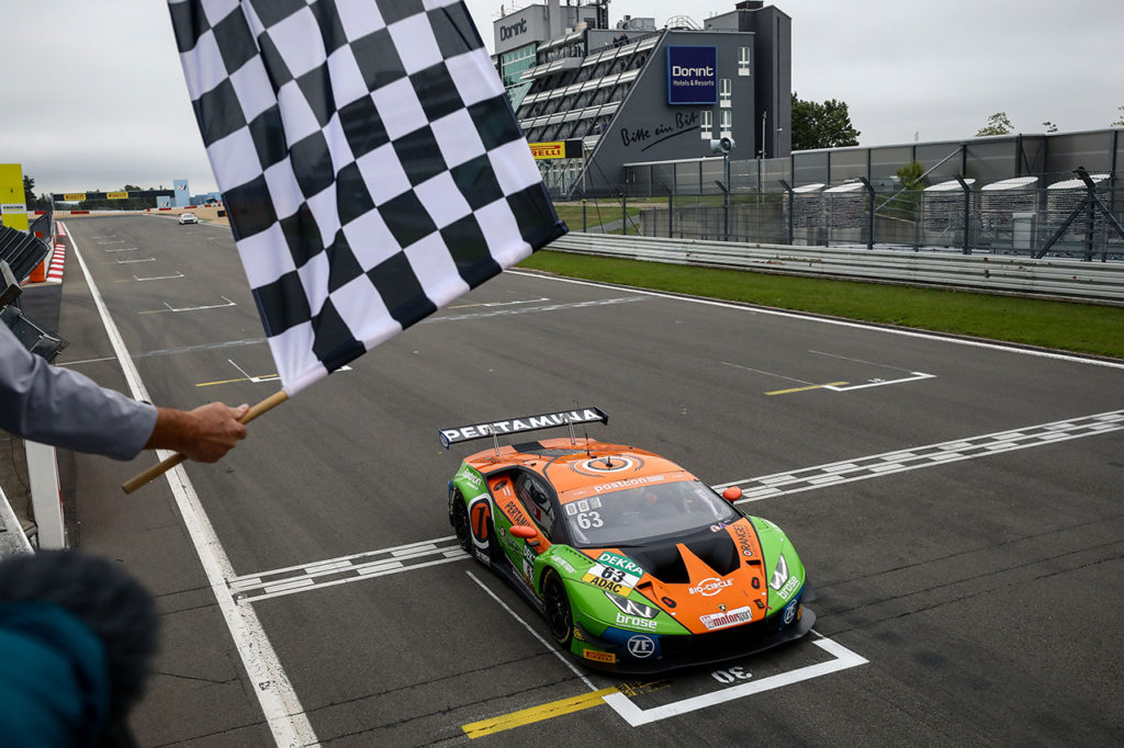 ADAC GT Masters | Due vittorie per Lamborghini e Orange1 by GRT Grasser Racing Team al Nurburgring