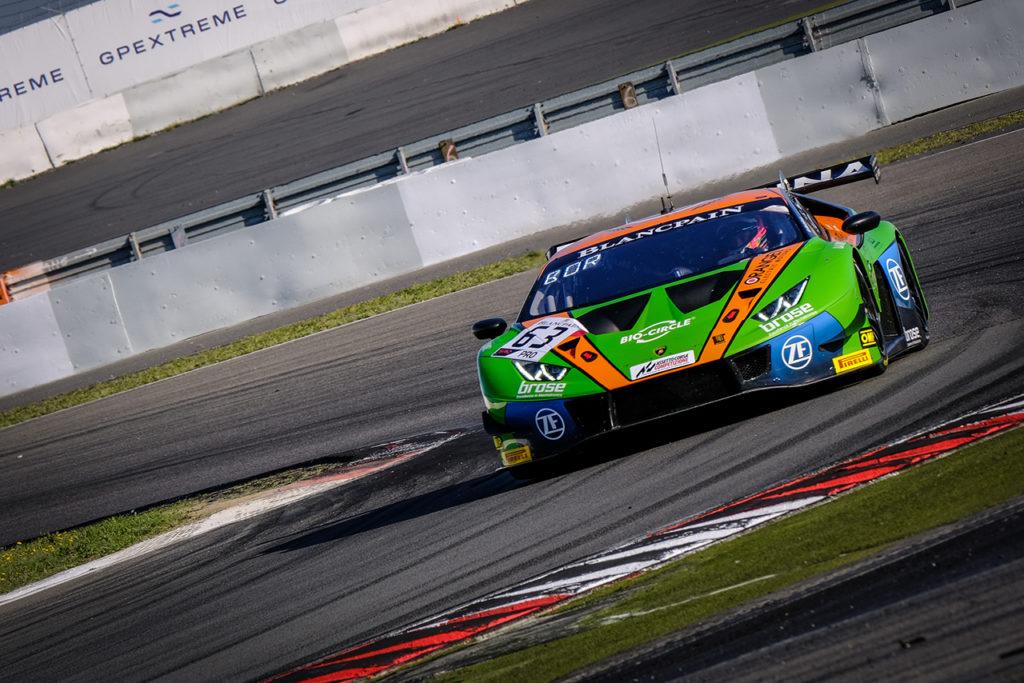 Blancpain | Nurburgring, Qualifiche: Bortolotti e Vanthoor si dividono le pole position