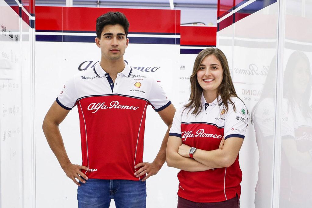 FIA F2 | Alfa Romeo chiama Correa e la Calderon per dei test a Le Castellet