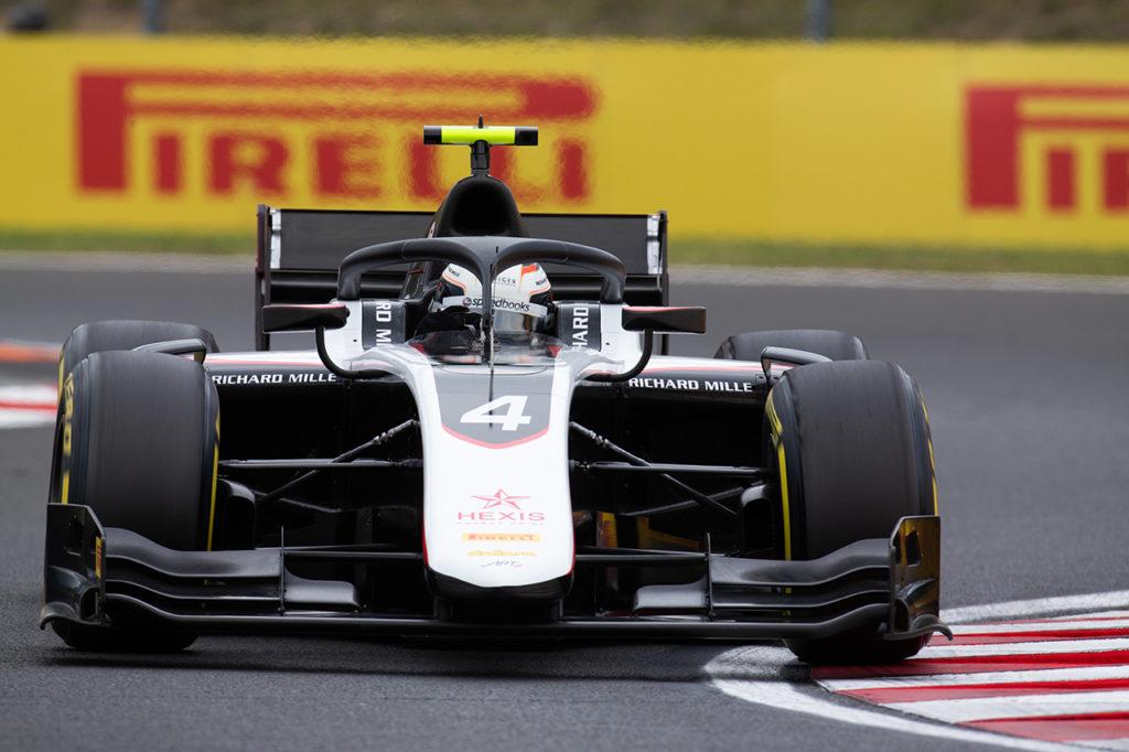 FIA F2 | Budapest, Qualifiche: de Vries naviga sul bagnato e conquista la pole