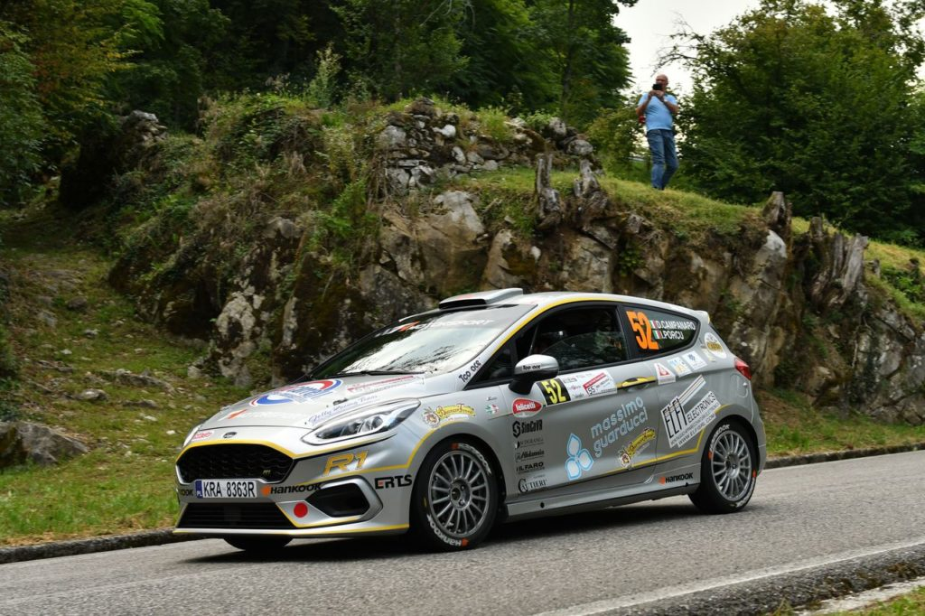 CIR | Il bilancio di Ford Racing al Rally Friuli Venezia Giulia: Campedelli piegato dalla sfortuna, Campanaro ancora vincente
