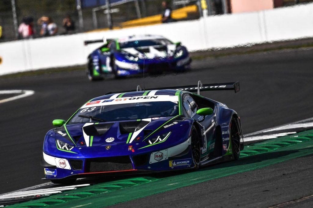 GT Open | Lamborghini domina a Silverstone con Costa ed Altoé (Emil Frey Racing), punte del team per il titolo