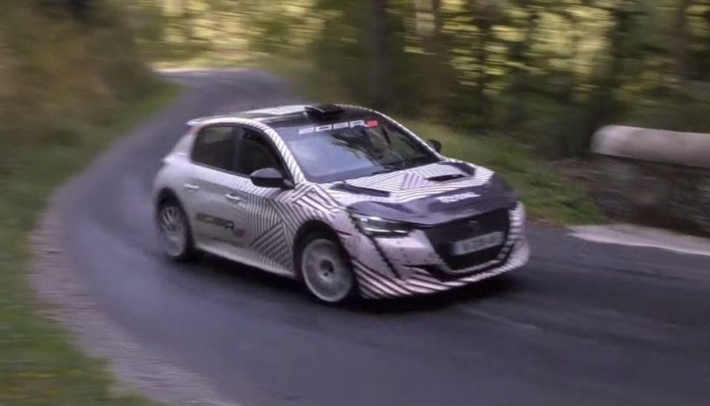 Prosegue lo sviluppo della nuova Peugeot 208 R2 [VIDEO]