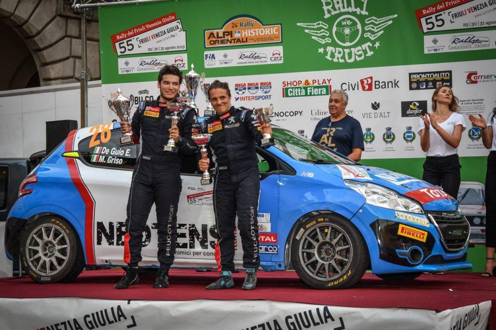 Peugeot Competition | 208 Rally Cup Top, Michele Griso coglie il successo al Rally Friuli Venezia Giulia