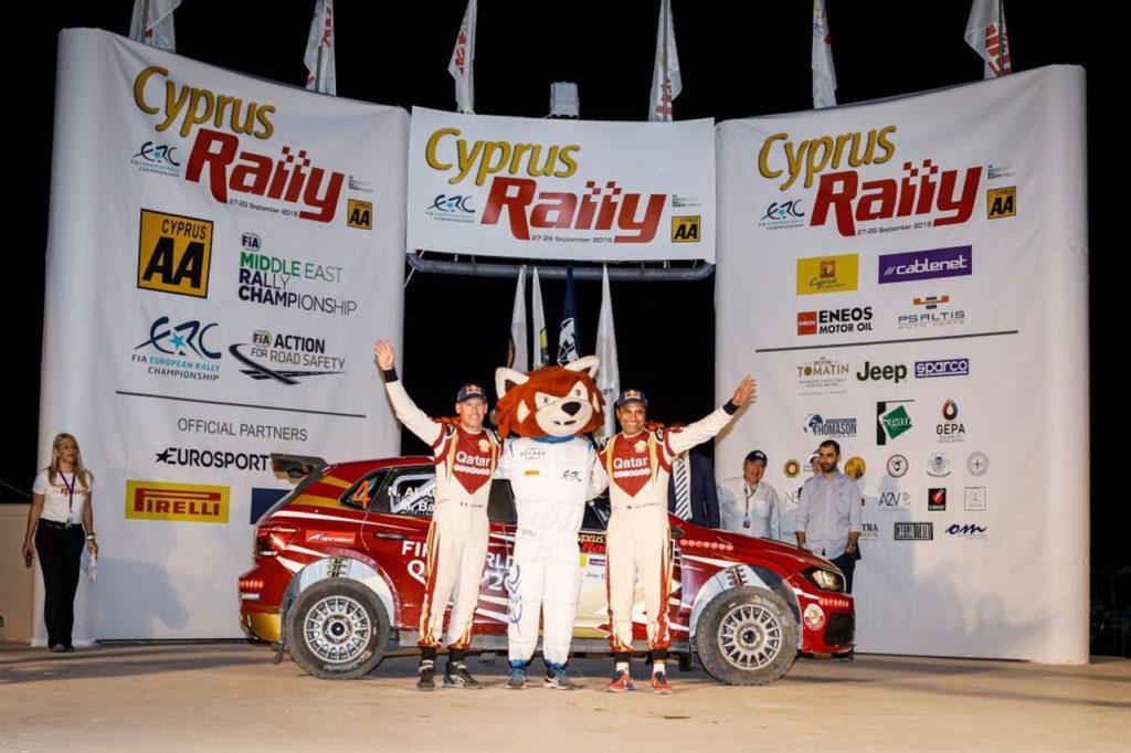 ERC | Rally Cipro 2019, Al Attiyah vince come da pronostico, Ingram fortifica la sua leadership [AGGIORNAMENTO]