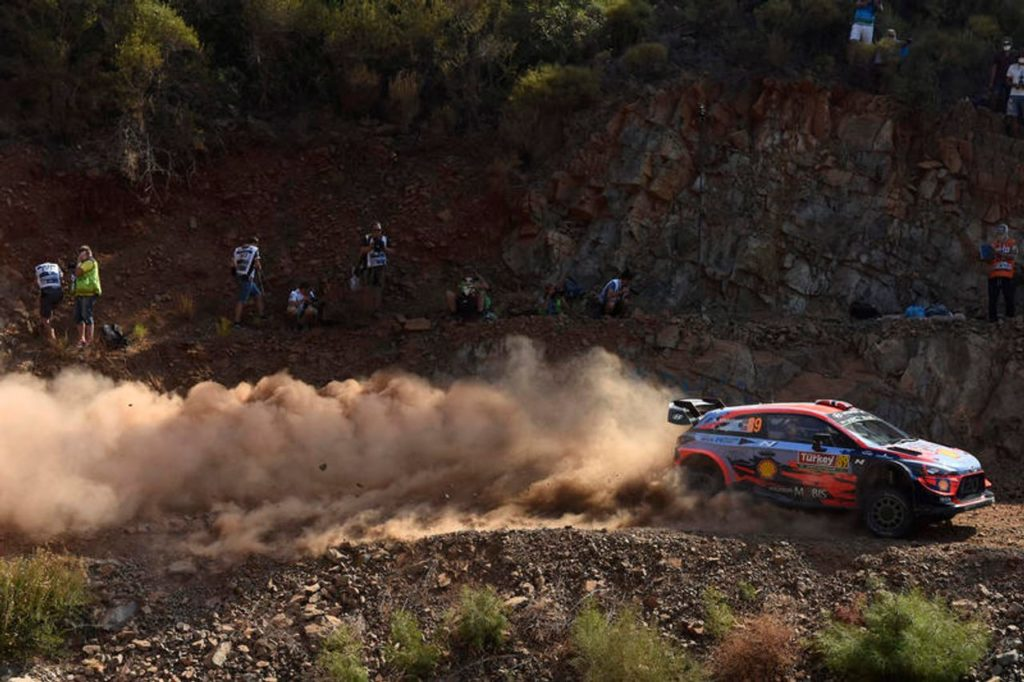WRC | Rally Turchia 2019, doppietta Hyundai in testa dopo la PS1