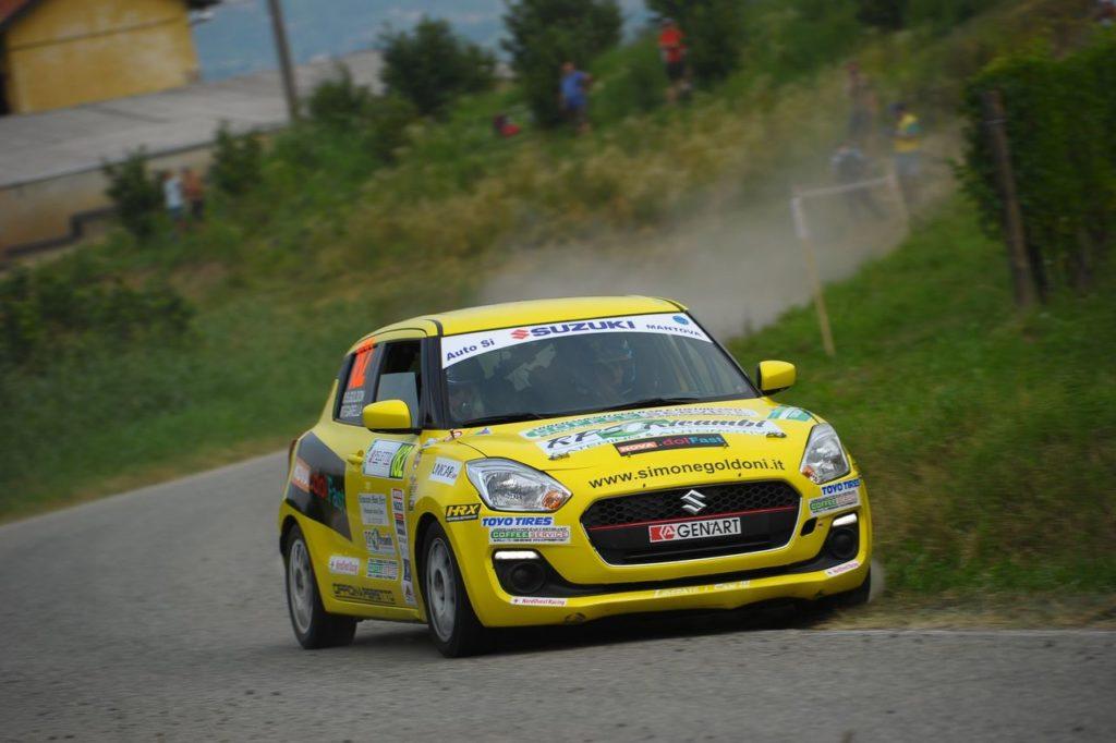 """Suzuki Rally Cup   Simone Goldoni, campione 2019 girone CIWRC: """"È stato complicato gestire l'ultima gara"""" [INTERVISTA]"""