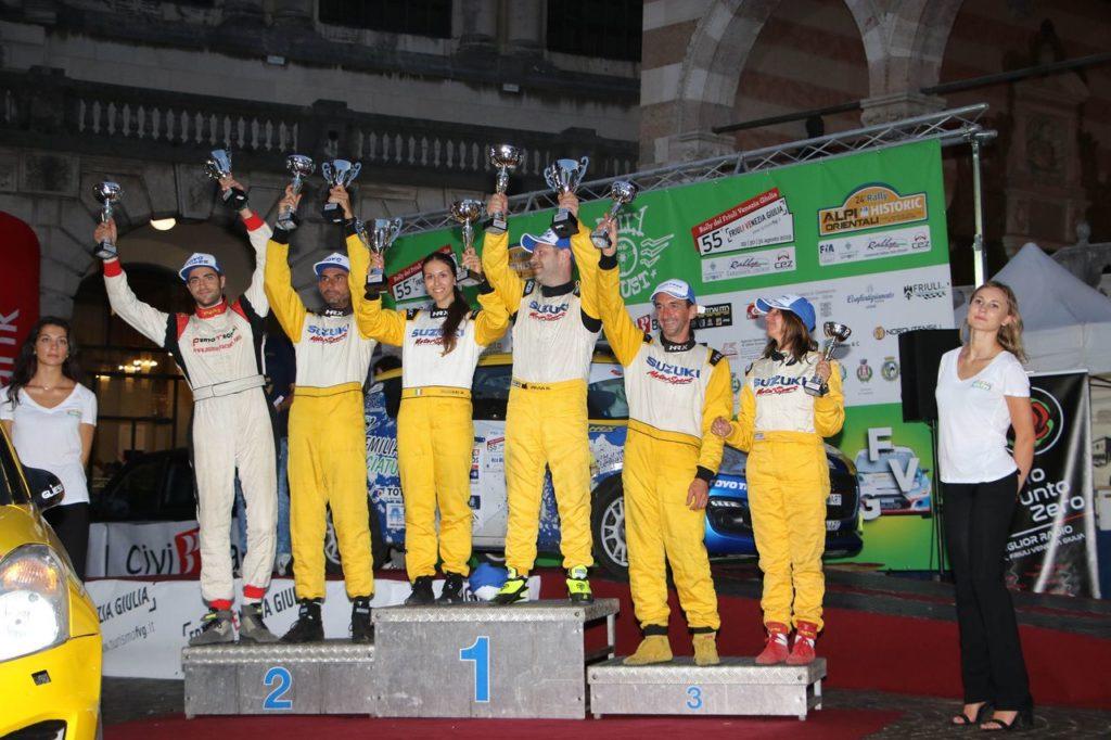 Suzuki Rally Cup | Rally Friuli Venezia Giulia, primo successo per Rivia nel girone CIR. Poggio torna leader