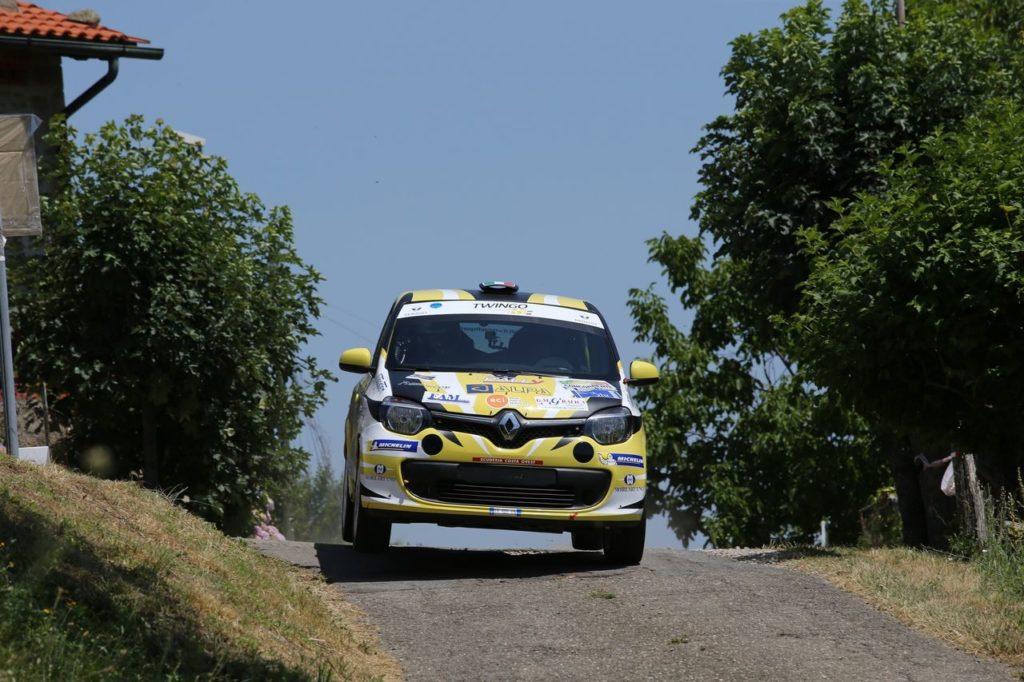 Trofei Renault Rally | Si chiude il Trofeo Twingo R1 Internazionale al Rally di Bassano. Catalini già campione