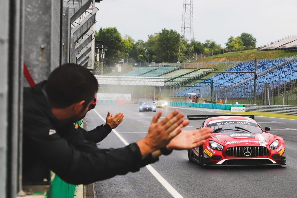 Blancpain | Budapest, Gara 1: dominio Mercedes con Abril e Marciello sotto la pioggia