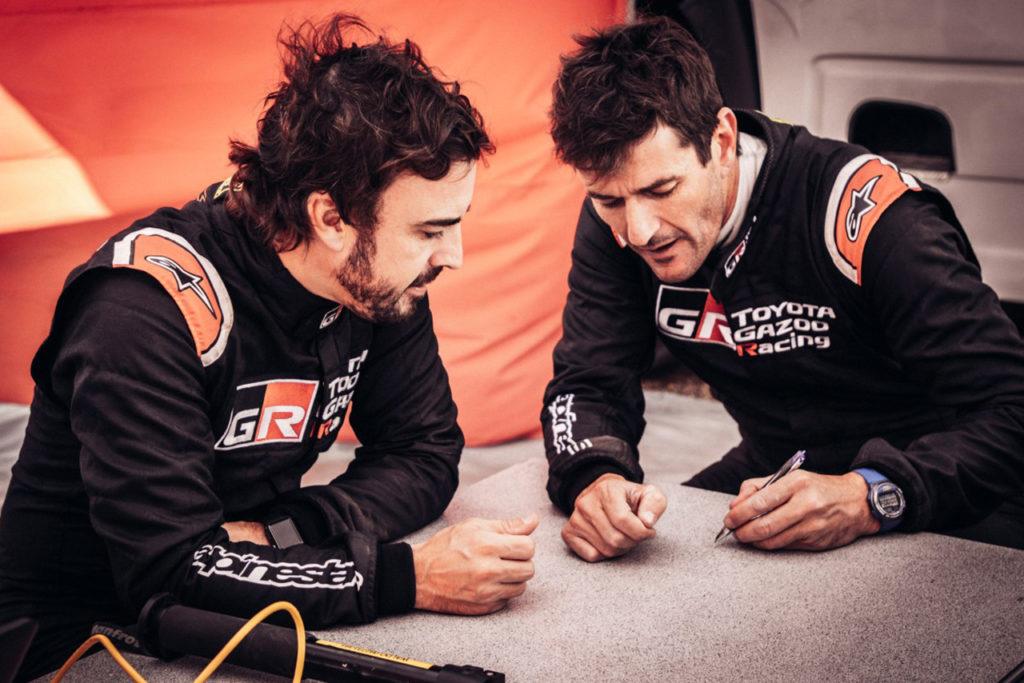 Dakar | Ufficiale: Coma al fianco di Alonso sul Toyota Hilux