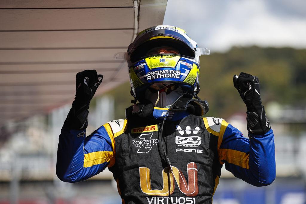 FIA F2 | Sochi, Gara 2: Ghiotto torna alla vittoria, spavento per Matsushita