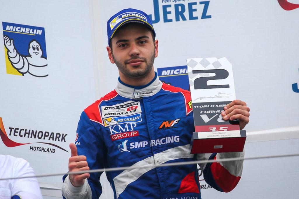 FIA F2 | Isaakyan con Sauber Junior Team by Charouz a Sochi e Yas Marina