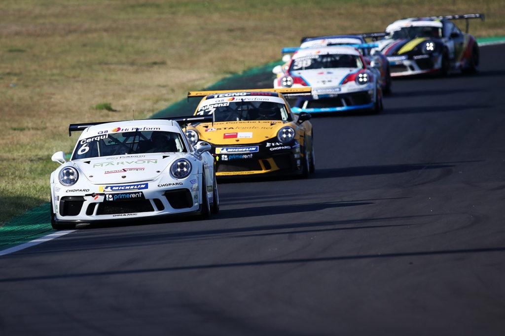 Porsche Carrera Cup Italia | Vallelunga, Gara 1 e 2: vittorie a Cercqui e Fulgenzi, Iaquinta nuovo leader