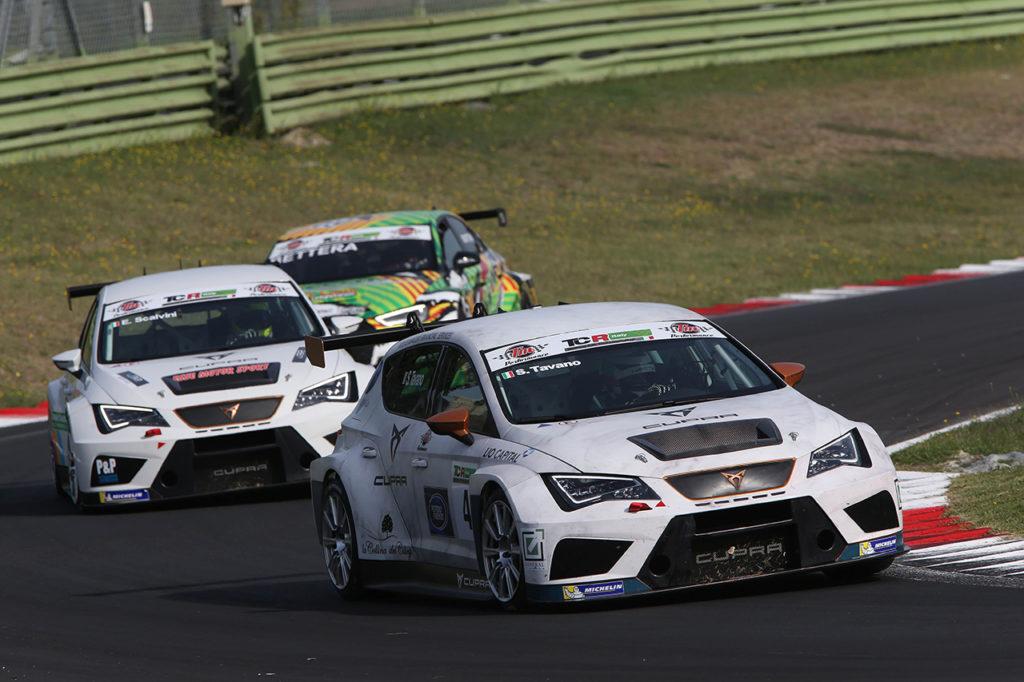 TCR Italy | CUPRA ancora al vertice del campionato con Salvatore Tavano