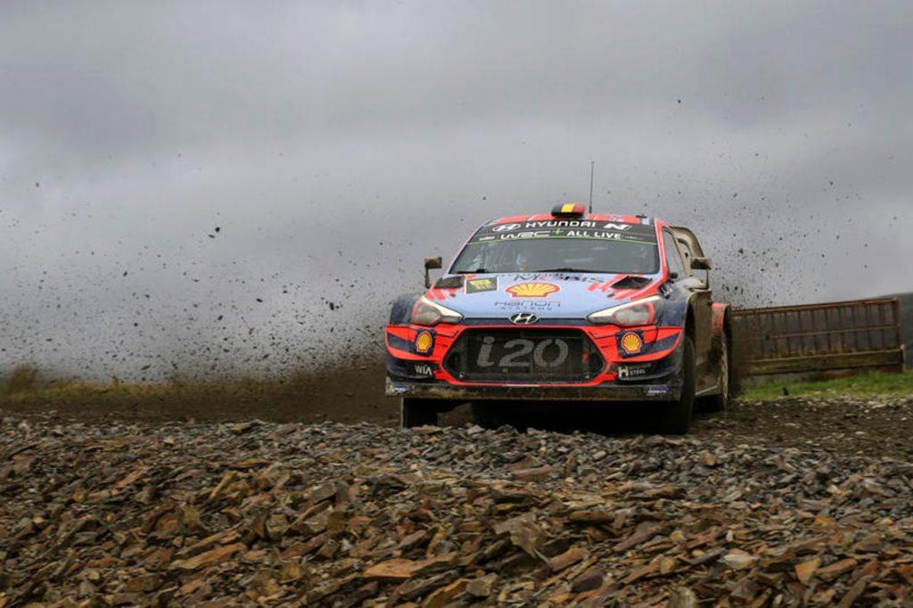 WRC | Ritorno al podio per Neuville in Galles, Hyundai resiste al comando tra i costruttori