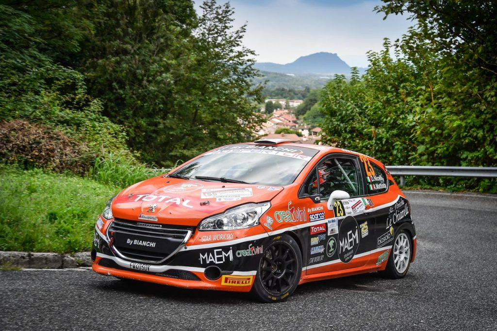 Peugeot Competition | 208 Rally Cup TOP, tappa nel Rally Due Valli: cinque piloti per il titolo
