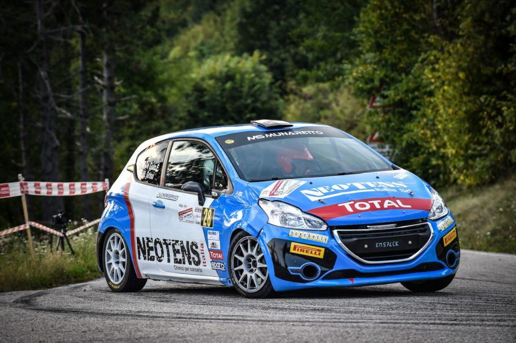 Peugeot Competition | 208 Rally Cup TOP, Griso ancora vittorioso e nuovo leader dopo il Rally Due Valli