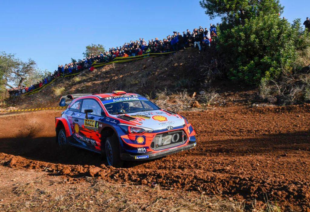 WRC | Rally Catalunya 2019: Ogier crolla, Sordo leader, Tanak controlla