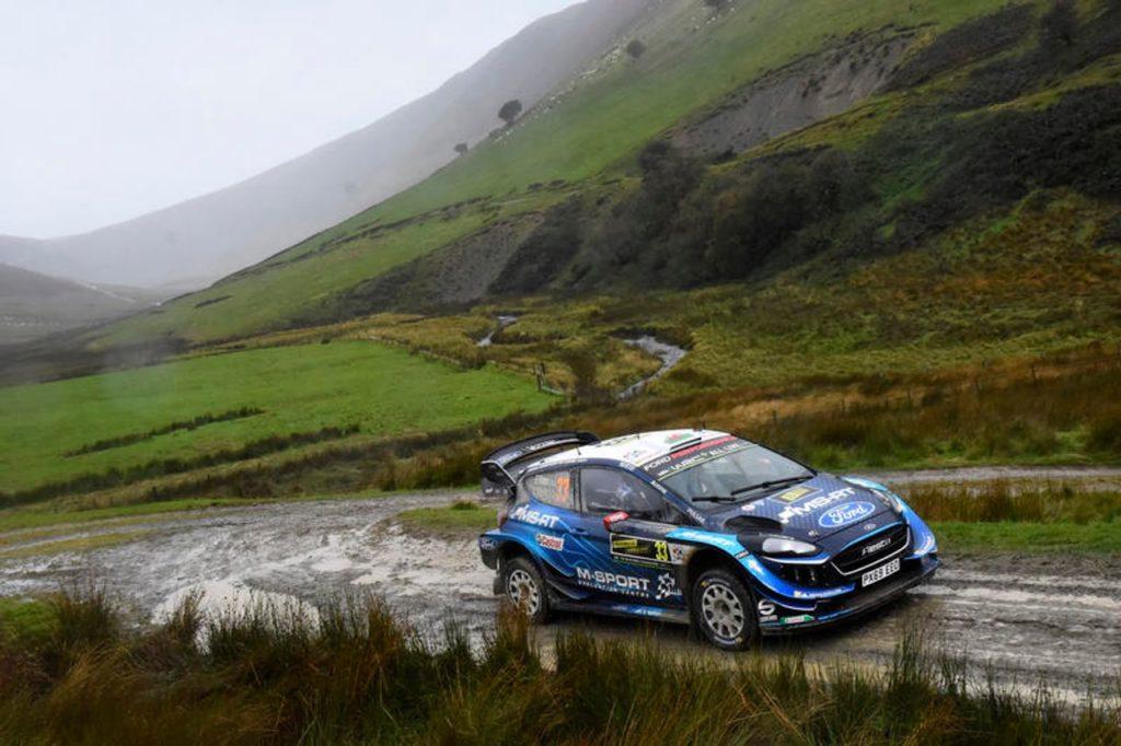 WRC | Rally Galles 2019, seconda mattinata: Evans pigliatutto, ma Tanak resiste in vetta seguito da Ogier e Neuville