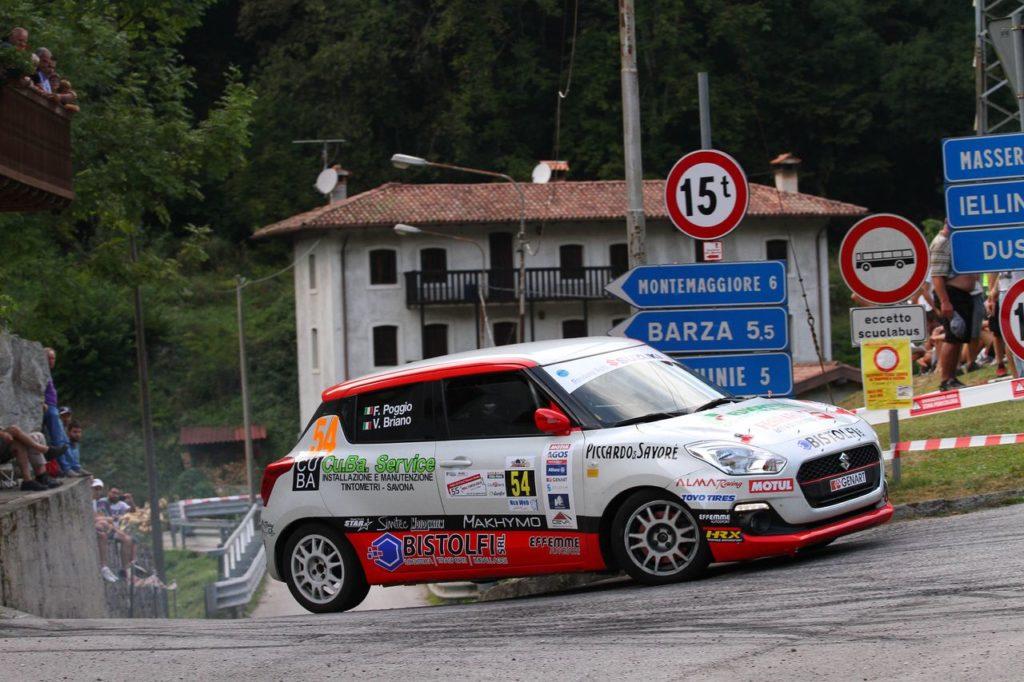 Suzuki Rally Cup | Si chiude il girone CIR al Rally Due Valli: tutti contro Poggio