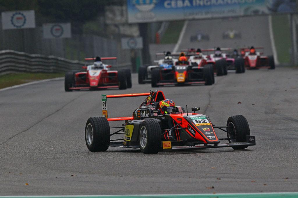 F4 Italia | Monza, Gara 2: ancora Hauger sotto la pioggia