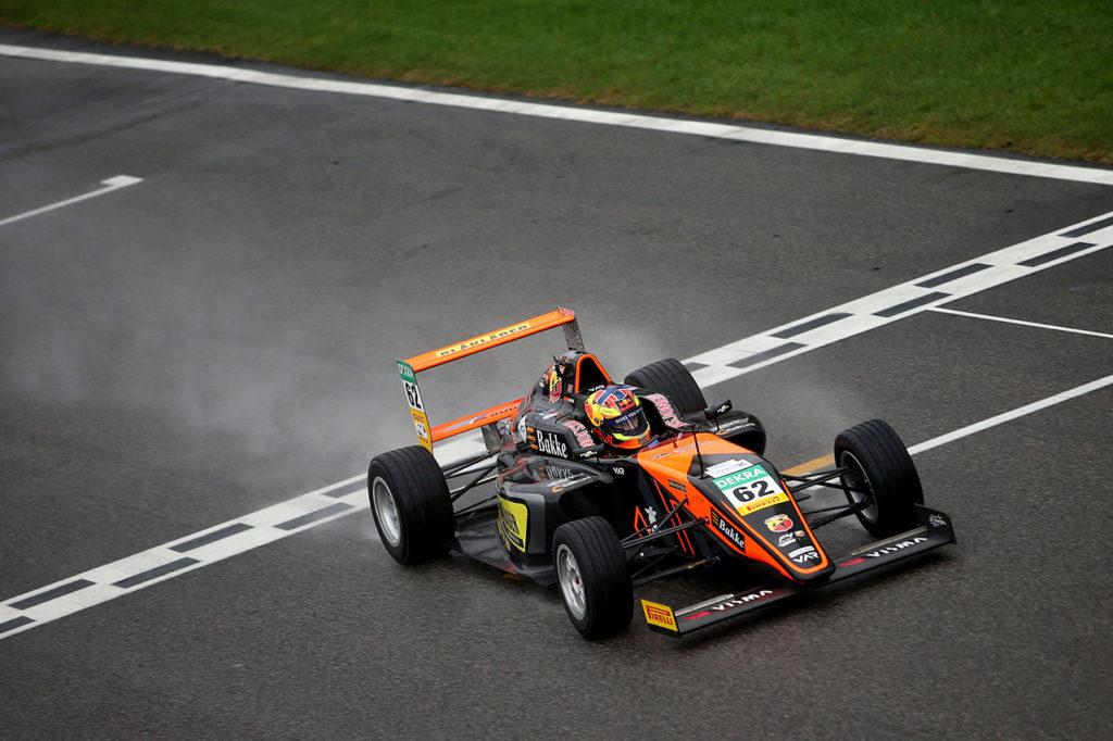 F4 Italia | Monza, Gara 3: Hauger inarrestabile, Aron 2° in campionato