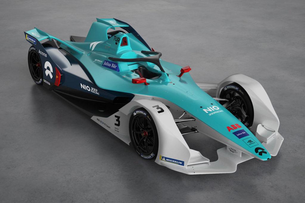 Formula E | NIO 333 svela i colori della nuova monoposto a Valencia
