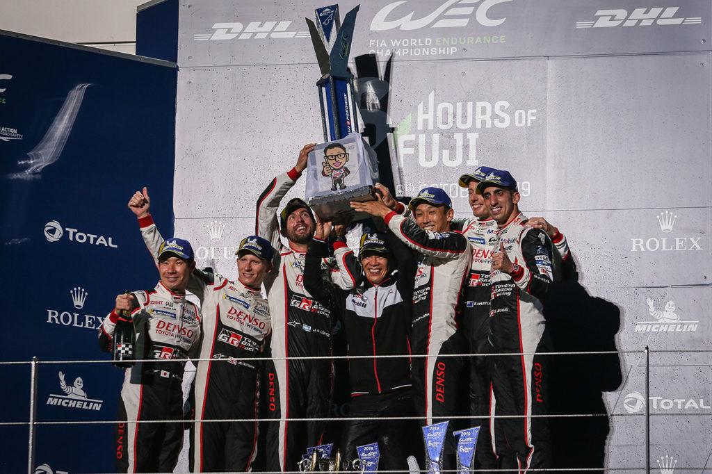 FIA WEC | 6 Ore del Fuji, Gara: ennesimo dominio Toyota con Buemi/Hartley/Nakajima