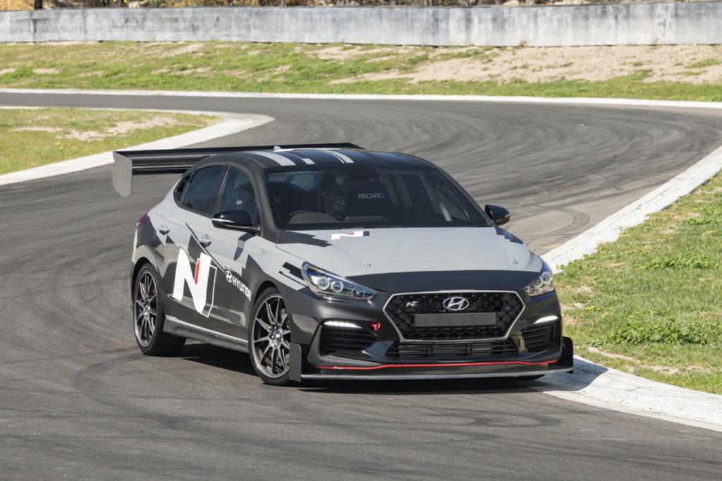Hyundai alla World Time Attack Challenge con una i30 Fastback N