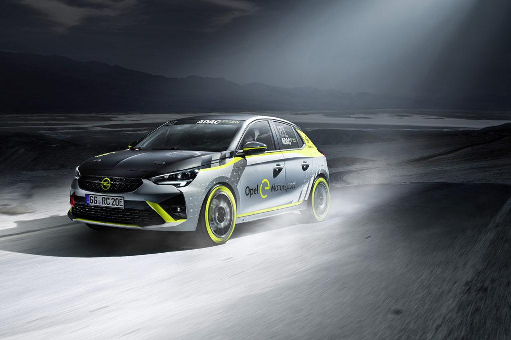 Opel Corsa-e Rally, la nuova arma elettrica si presenta nel finale del DRM