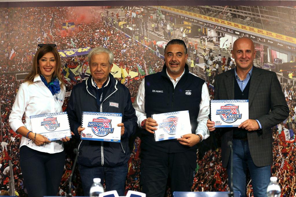 Presentato l'Adria Motor Week a Monza. Diretta dell'evento su AutomotoTV