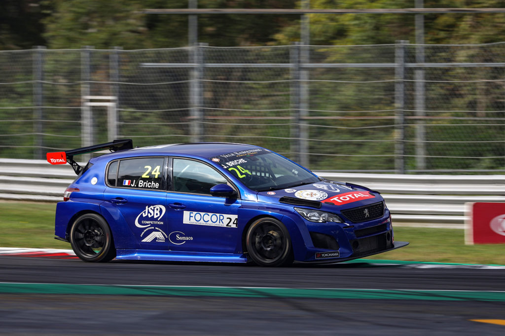 TCR Europe | Monza, Gara 1: Briché segna il dominio Peugeot, Files 3°
