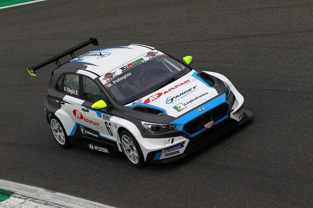 TCR Italy | Monza (2), Qualifiche: Pellegrini in pole sul bagnato con Hyundai