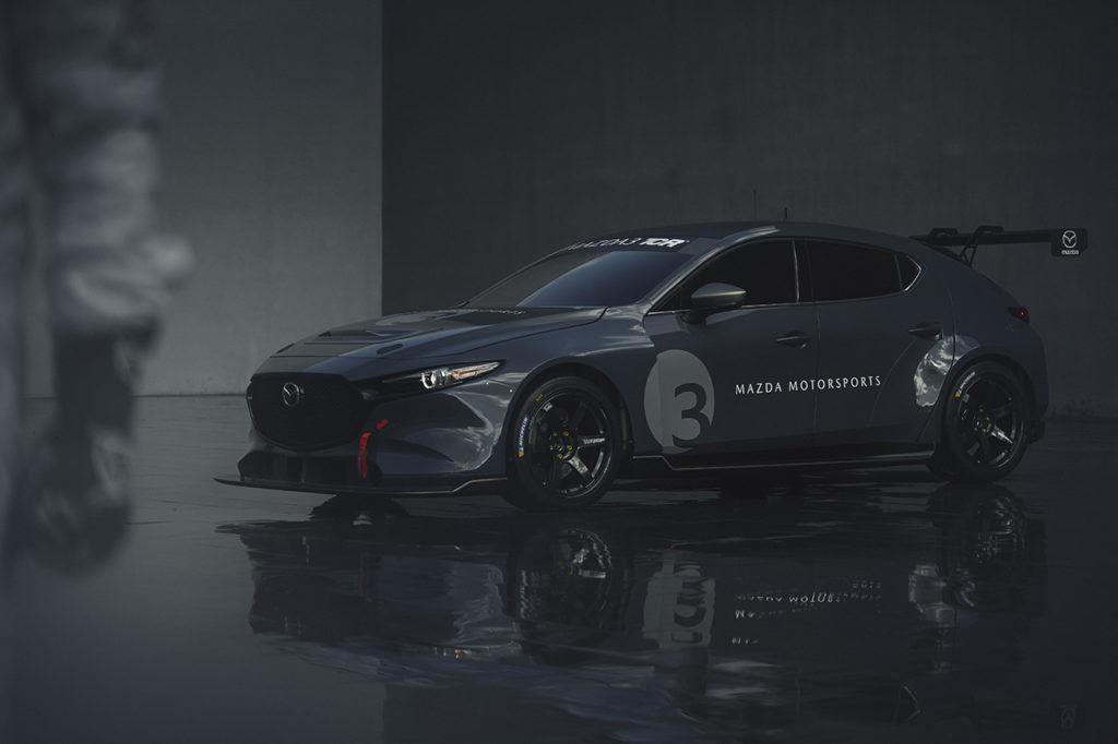 Mazda presenta la nuova Mazda3 TCR, al debutto nel 2020 in America