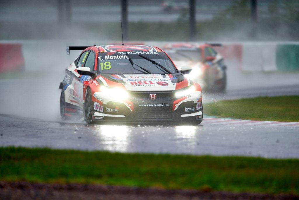 WTCR | Race of Japan, Qualifiche 1: Monteiro in pole sotto il diluvio