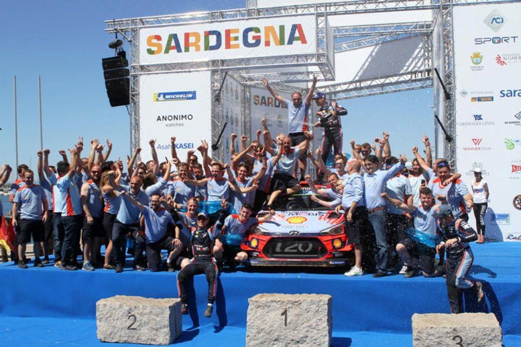 WRC | Hyundai Motorsport, obiettivo centrato: il titolo costruttori 2019 è suo
