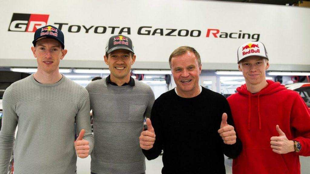 WRC | Ogier, Evans e Rovanpera: la nuova squadra di Toyota Gazoo Racing