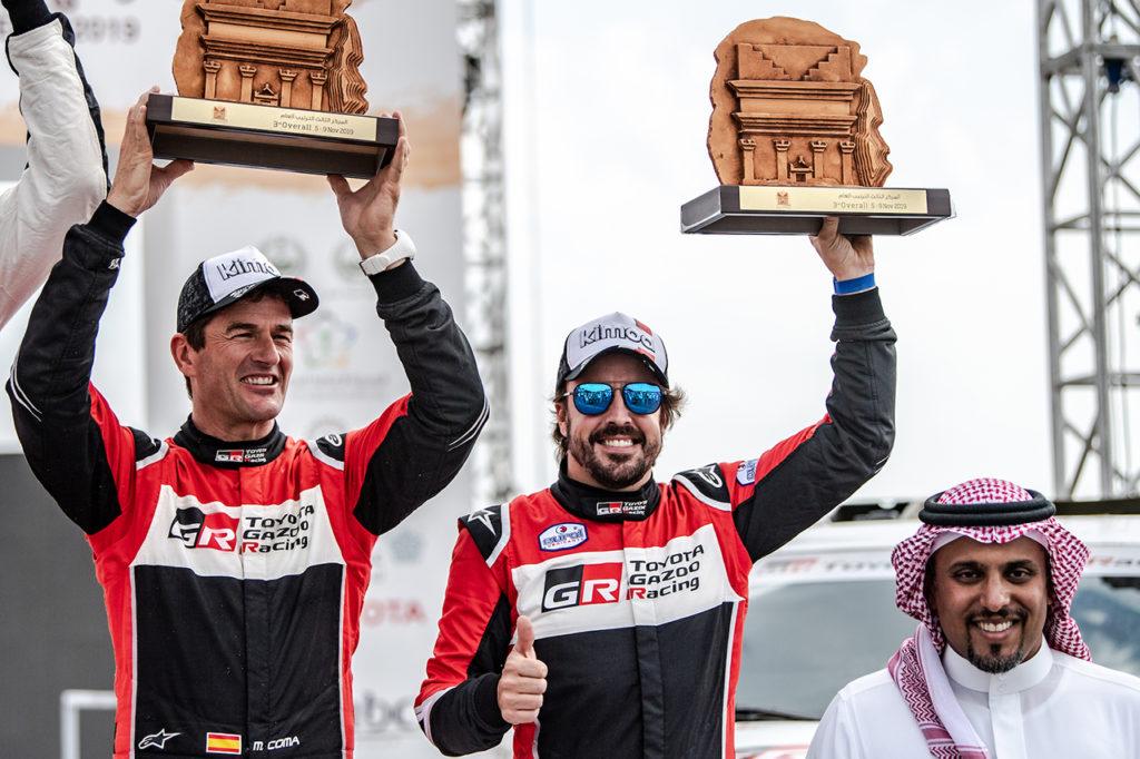 Alonso e Coma colgono un podio in Arabia Saudita con Toyota