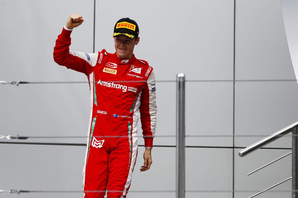 FIA F2 | Armstrong promosso dalla F3: correrà con ART Grand Prix