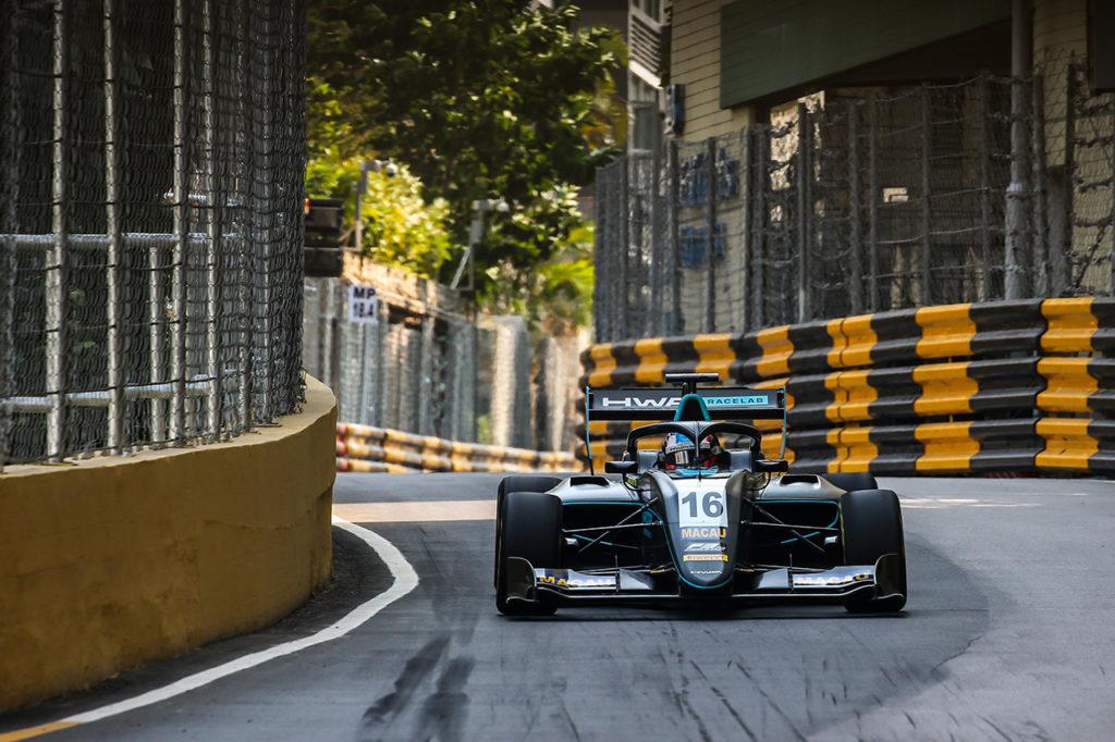 FIA F3 | Macao, Qualifiche 1: Hughes in pole con HWA Racelab