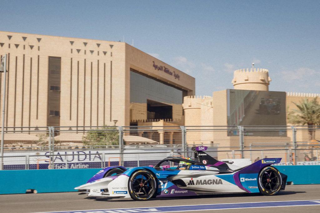 Formula E | Diriyah, Qualifiche 2: terza pole consecutiva per Sims e BMW