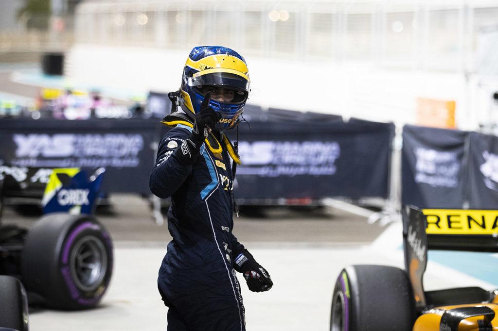 FIA F2 | Abu Dhabi, Qualifiche: Sette Camara si prende l'ultima pole